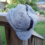 Linen cycling cap!